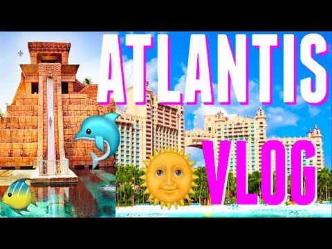 Traveling to Atlantis Bahamas Paradise Island VLOG Day 1   Celebrating My Birthday!