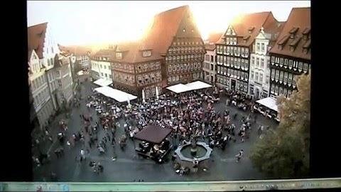 Hildesheimer  Jazztime  2016  :  Auftakt   Marktplatz  ;  Webcam