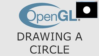 OpenGL Tutorial 12 - Drawing A Circle Using A Triangle Fan