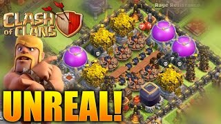 "Clash of Clans - ""UNDEFEATED TROLL BASE!"" NEVER LOSE! (CoC Troll 2016 Epic Replay Troll!)"