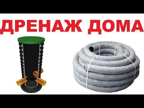 Вопрос: Как установить дренажную систему вокруг фундамента дома?