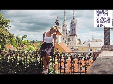 1 dag ETEN in ZAGREB - Reisvlog #15