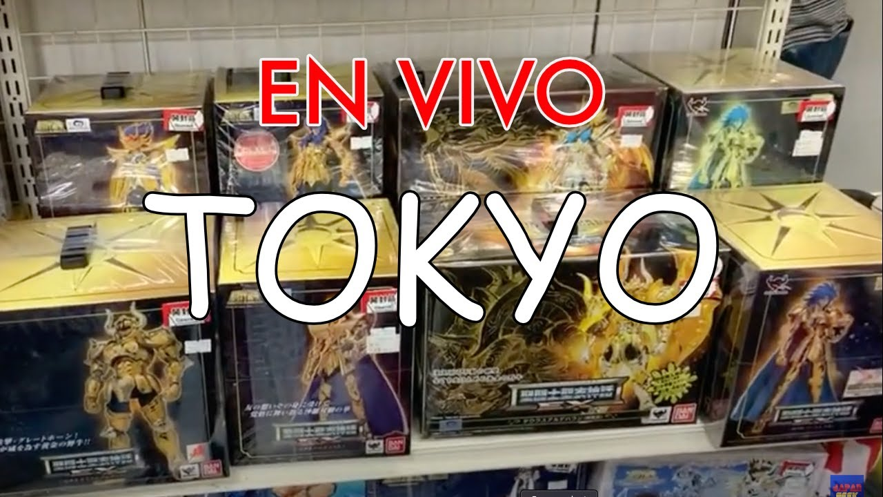 En vivo buscando figuras myth cloth ex en Tokyo, Dragon Ball, Macross, retro anime con Japan Geek