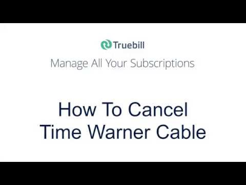 How To Cancel Time Warner Cable (2016)