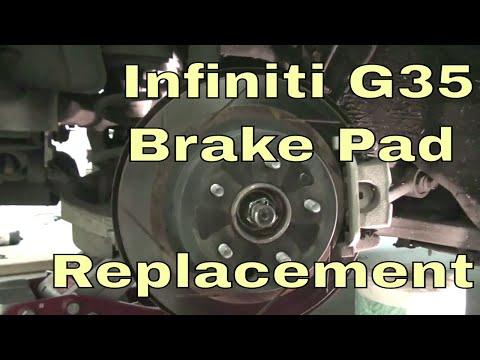 Infiniti G35 Brake Pad Replacement – DIY Save Money