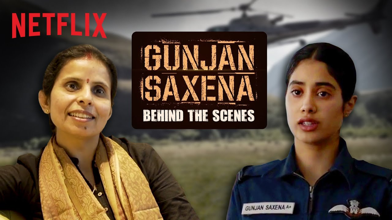Behind The Scenes Of Gunjan Saxena The Kargil Girl Watch Bollywood Indiawest Com