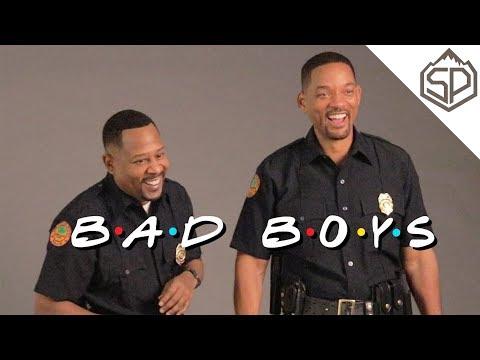 Уилл Смит и Мартин Лоуренс на съёмках «Плохих парней 3»