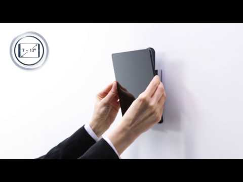 TABLET HOLDER WALL - for a flat wall mounting (EN) | DURABLE