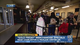 Golden Knights fans crowd City National Arena for Gold Friday deals