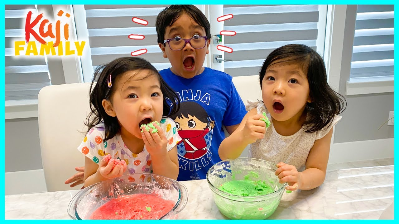 DIY Edible Slime Candy! How to make slime you can eat!!