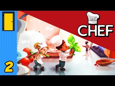 Designing Delicious Dishes! | Chef - Part 2 - Restaurant Tycoon Game (Early Access)