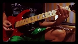 Your Turn Helloween Guitar Cover by 45 years Balinese Buduh :-)