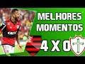 Flamengo 4 x 0 Portuguesa Melhores Momentos HD