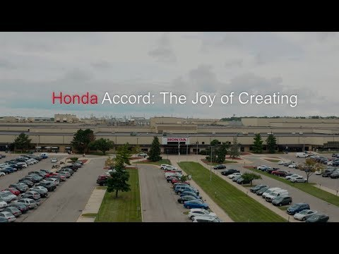 "Honda Accord: ""The Joy of Creating"" Cutdown"