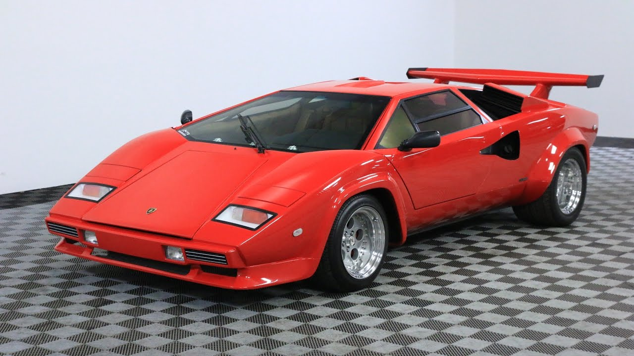 1984 Lamborghini Countach Youtube