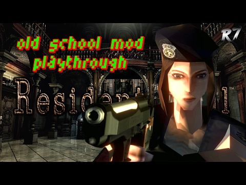Resident Evil Remaster | PC | 1996 OLD-SCHOOL MOD | Playthrough | Part 1 | 1080p 60FPS