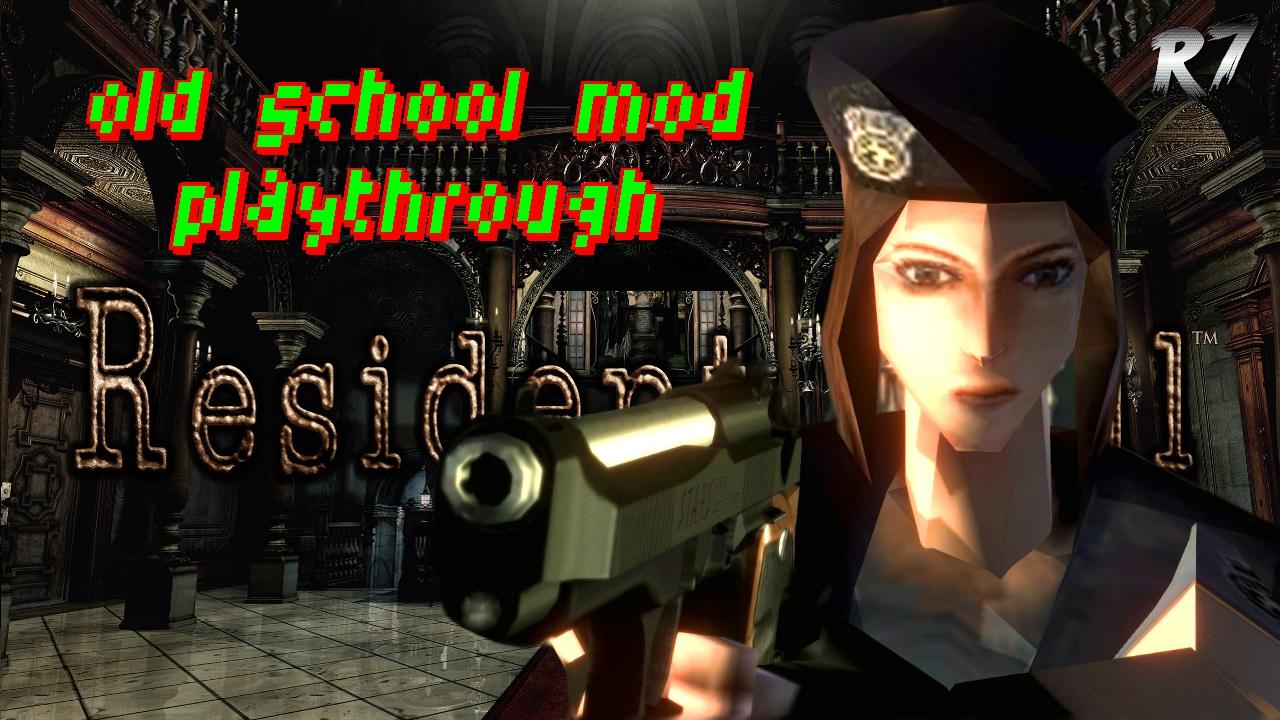 Resident Evil Remaster | PC | 1996 OLD-SCHOOL MOD | Playthrough | Part 1 |  1080p 60FPS