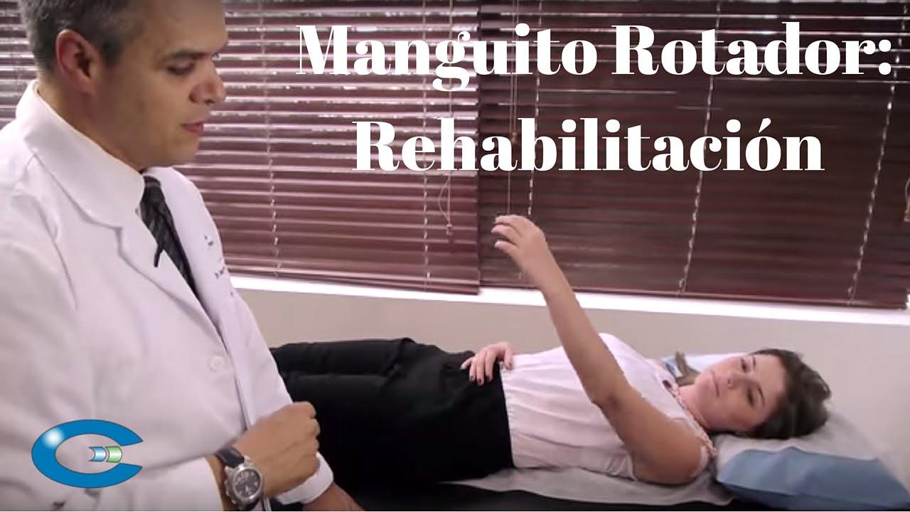 tratamiento de la tendinitis del manguito rotador