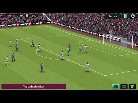 Soccer Manager 2020 (SM20) | IOS / Android Mobile Gameplay