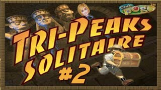 Pogo Games ~ Tri Peaks Solitaire #2