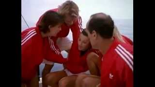 BAYWATCH S06E13 - Neely saves Caroline after she is hit in head & knocked overboard (DROWNING)