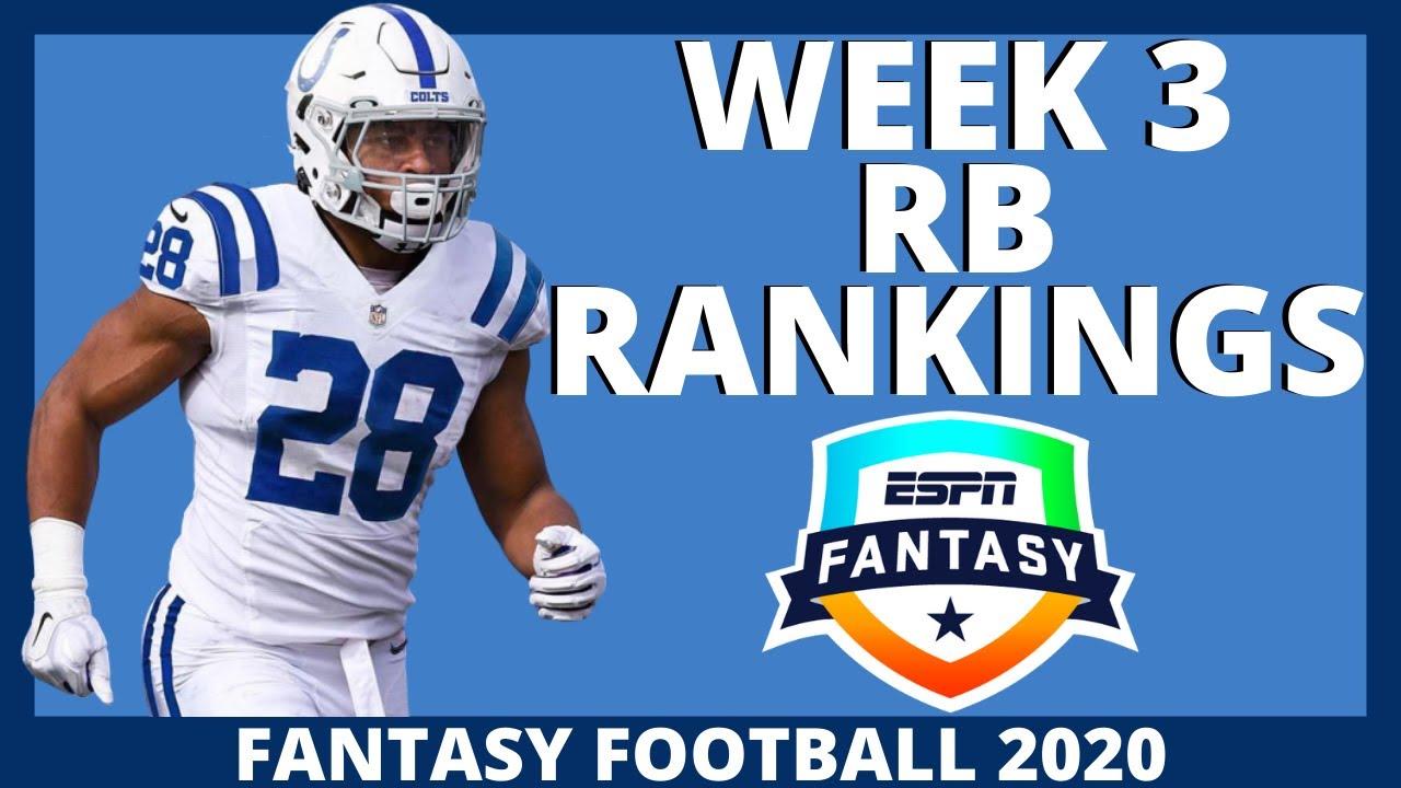 2020 Fantasy Football Rankings Top 32 Running Back Rankings Week 3 Youtube