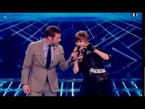 Justin Bieber  Somebody To Love & Ba   on X Factor 2010 HD