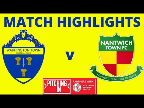 Warrington Nantwich Goals And Highlights