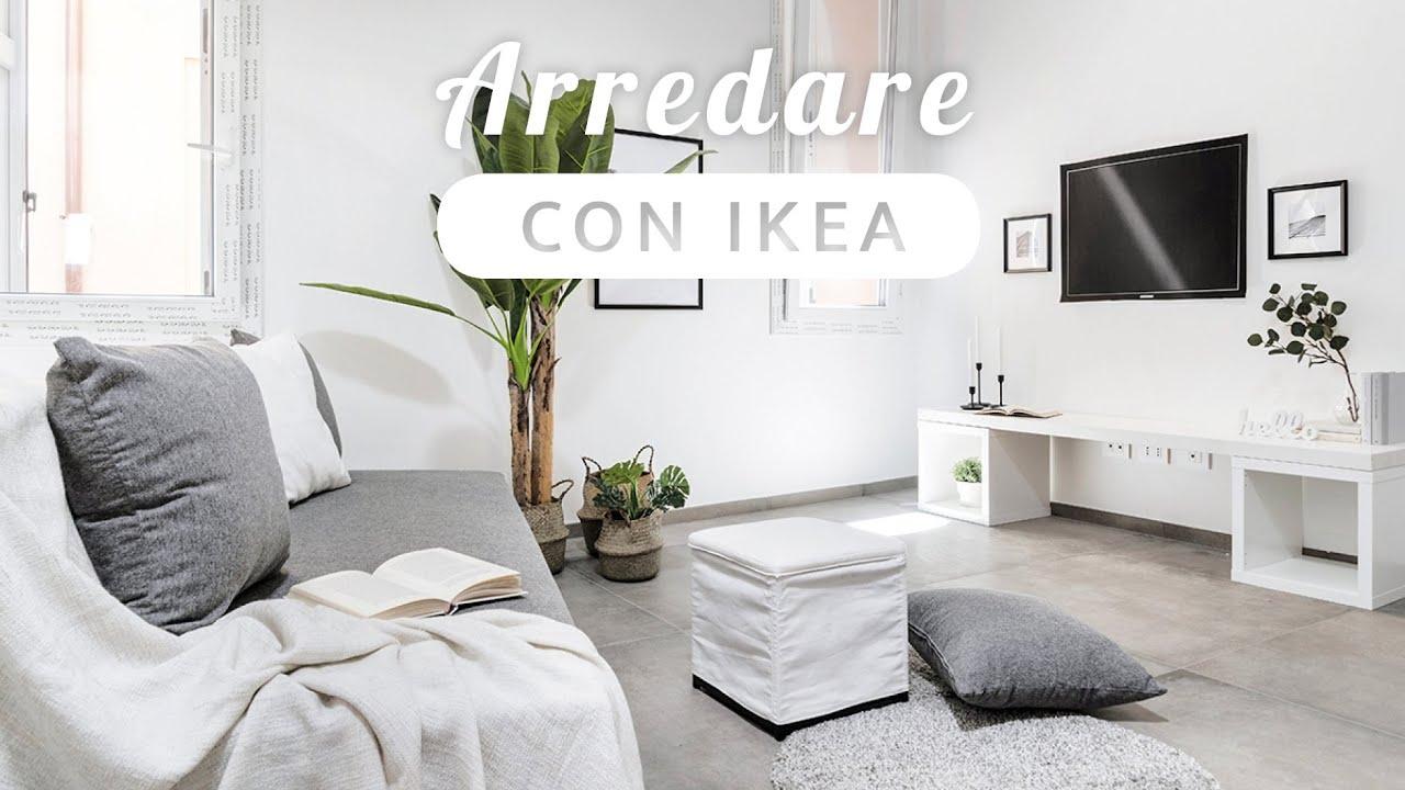 Arredamento Ikea Come Arredare Piccoli Spazi Con L Home Staging Youtube