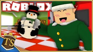 Danish Roblox | Christmas Simulator Ep 1-Helps Santa Claus with Christmas preparation!