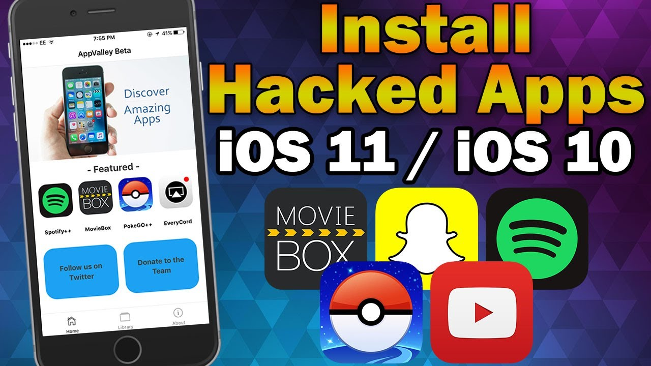Install Hacked Apps Hacked Games On Ios 11 Ios 10 0