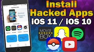 Install Hacked ++ Apps & Hacked Games on iOS 11 / iOS 10.0 - 10.3.3 (No Jailbreak / No Computer)(, 2017-06-26T18:59:33.000Z)