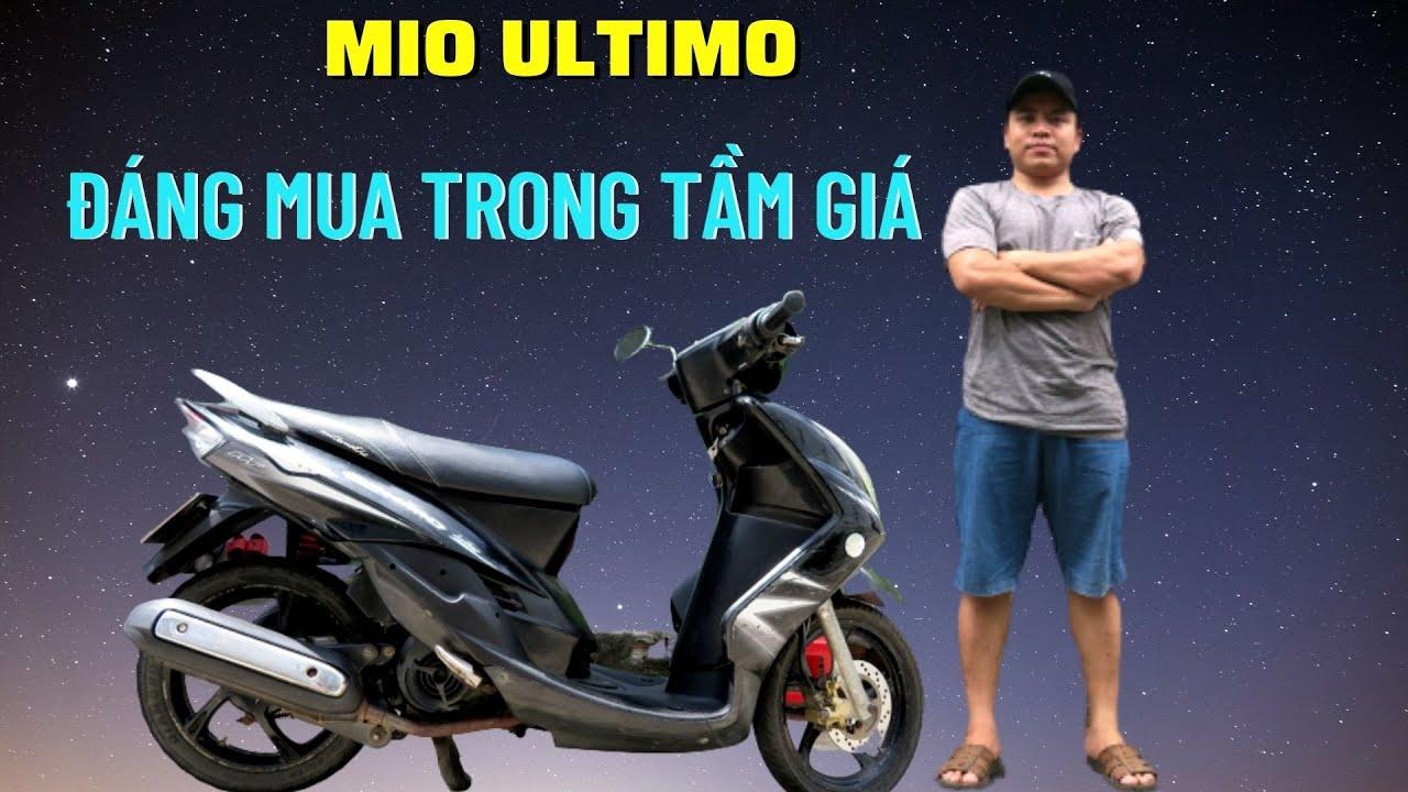 Xe Mio Ultimo Chiếc Xe Máy Cũ Giá Rẻ Đáng Mua Nhất Trong Tầm Giá | Thắng Biker
