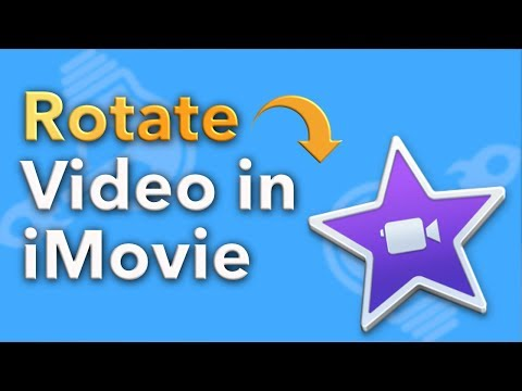 How to Rotate Video in iMovie (2018)