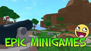 Trying to win all the badges of epic minigames * ROBLOX * (OsMarfi_Gamer)