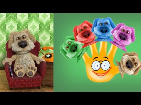 Talking Ben and friends Finger family Play Doh Parody Song