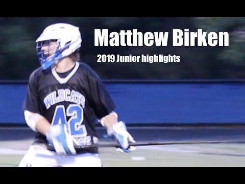 Matthew Birken's Men's Lacrosse Recruiting Profile