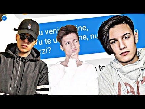 Farsă cu versuri din melodiile youtuberilor ( Lino, Vlad Munteanu, Alex Alvarez )