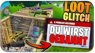 🚫 FOR CAN MAN BE 🔨 TO BE BANNED | Fortnite Bug Glitch German