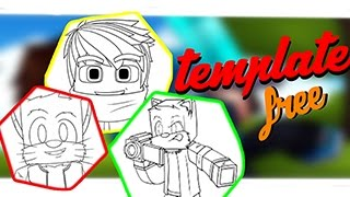 PACK TEMPLATES CARTOON MINECRAFT!