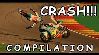 Valentino Rossi Game - Crash & slide compilation PC