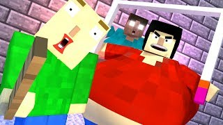 BALDI'S BASICS HORROR GAME - Minecraft Animation