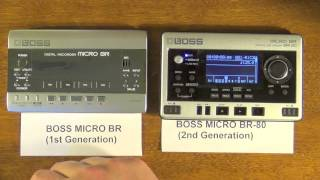 portable multitrack face off boss micro br vs br 80 an in depth comparison features