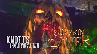 Pumpkin Eater maze at Knott's Scary Farm
