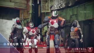 Destiny 2 Beta | Crucible | Control | Sentinel Titan