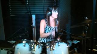 Mountain Sound by Of Monsters and Men. Drum Cover by Karen Merrell.