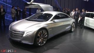 Mercedes F125 Concept 2011 Videos