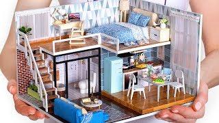 5 Miniatur-Puppenhaus-Zimmer