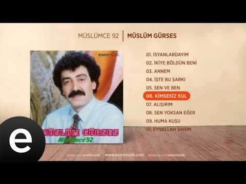 Kimsesiz Kul (Müslüm Gürses) Official Audio #kimsesizkul #müslümgürses