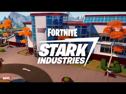 Iron Man's Stark Industries Arrives In Fortnite